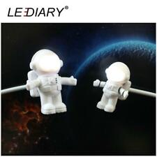 Astronaut Spaceman LED Night Light USB Desk Lamp Computer PC Keyboard Flexible