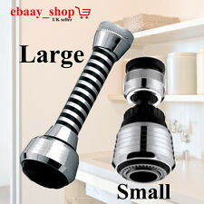 New Kitchen Tap Head Water Saving Faucet Extender Sprayer Sink Spray Aerator Set