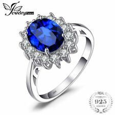 Jewelrypalace Princess Diana William Kate Middleton'S 3.2Ct Created Blue Sapphir