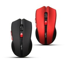 Usb Wireless Mouse 6 Buttons 2.4G Optical Mouse Adjustable 2400Dpi Wireless Gami