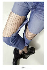 Party Hollow Out Sexy Pantyhose Female Mesh Black Women Tights Stocking Slim Fis