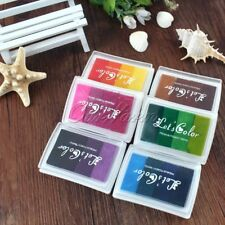 Multicolour Creative Diy Oil Rubber Stamps Ink Pad For Wedding Decoration Party1