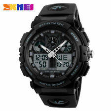 Skmei Men Sport Watch Male Quartz Digital Clock Electronic Dual Display Wristwat