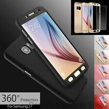 Ultra Thin Full Protective Cover Case For Samsung S6 S6edge S7 S7edge with Free