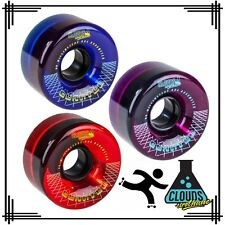 Clouds Quantum Urethane Hybrid 80a Outdoor Roller Skate Wheels Retro Style