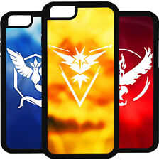 POKEMON GO EQUIPO VALOR MYSTIC IPHONE 5 5S 6 6S 7 PLUS 5C 4 4S SE CARCASA FUNDA