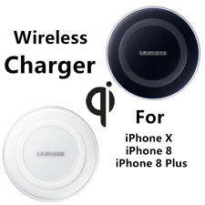 Original QI Wireless Charger For iPhone X 8 Plus Samsung Galaxy Note 8 S9 S8 S7