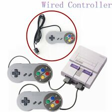 Wired Controller For Super Nintendo Entertainment System SNES Mini Classic #FV