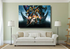 Transformers The Last Knight Movie Poster Large Wall Art Print - A0 A1 A2 A3 A4