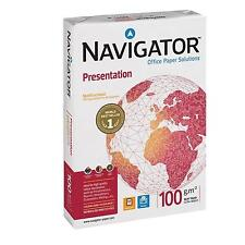 Navigator Presentation Paper A4 100gsm White - Reams of 500 sheets - Next day