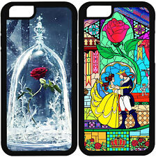 LA BELLA Y LA BESTIA IPHONE 5 5S 6 6S 7 PLUS 5C 4 4S SE CARCASA FUNDA 2