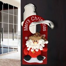 XMAS Santa Claus Snowman Reindeer Christmas Door Hanging Home Decorations UP