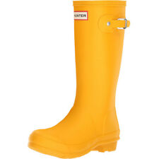 Hunter Original Kids Amarillo Caucho Junior Botas De Lluvia Botas