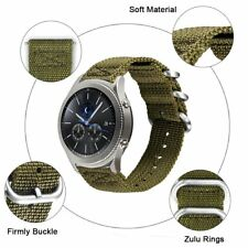 Replacement 22 mm nylon strap for any watch 22 mm size strap