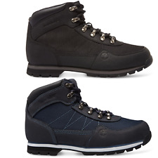 Timberland Euro Hiker FL Mid Botas Zapatos Boot negro azul 6656A 6657A WOW SALE