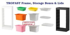 IKEA TROFAST Frame Storage Box Lids & Shelf or Storing and Organising Toys Books