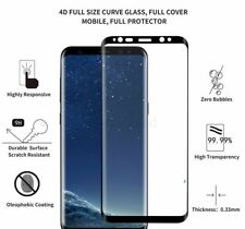 4D Tempered Glass Screen Protector Curved For Samsung Galaxy S8, S8 Plus, Note 8