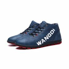 New Men Sneakers High Top Casual Lace Up Fashion Comfort Sport Shoes Size Velvet