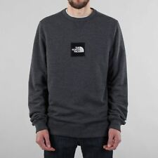 The North Face Men's Black Label Fine Crewneck Sweatshirt TNF Dark Grey Heather