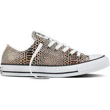 Converse Chuck Taylor All Star Snake Ox Brown In Pelle Formatori Scarpe