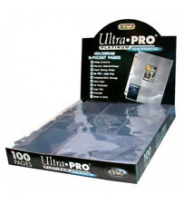 TRADING CARD A4 SLEEVES ULTRA PRO PLATINUM SERIES 9 POCKET PAGES -CHOOSE AMOUNT!