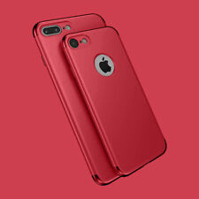 New Shockproof Full Protective Hard Back Case Cover For iPhone SE 6 7 8 Plus
