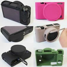 Silicone Camera Soft Case Protective Skin Cover For Sony DSC-RX100M5 RX100M4 RX1