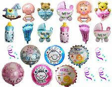Baby Shower Balloons Birthday Party Decorations Boy Girl Pink Blue New Baby born