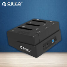 Orico Usb 3.0 To Sata 3 Bay External Hdd Docking Station For 2.5 & 3.5 Inch Hdd1