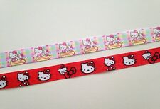 Hello Kitty cat bunny rabbit kawaii kitsch grosgrain ribbon