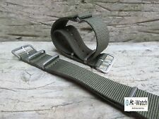 Nato Olive Green G10 Nylon, Divers, Military Watch Strap Band 18, 20, 22, 24mm