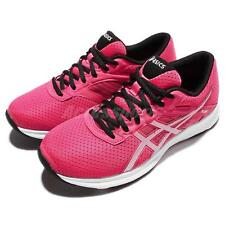 Asics Fuzor Pink Silver Black Womens Running Shoes Sneakers Trainers T6H9N-1993