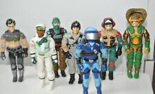 1986 Gi joe action force figures Hawk Sci Fi Wet-Suit Cross-Country Thrasher