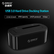 Orico 6218Us3 External Hdd Docking Station 5Gbps Usb 3.0 To Sata Hdd Case Suppor