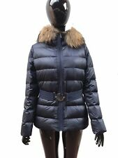 WOMENS DOWN FEATHERS JACKET, RRP £880, SIZE 1-4, NAVY