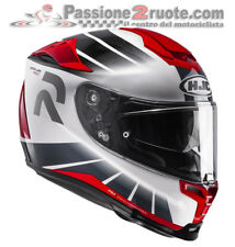 Helmet moto Hjc Rpha 70 Octar Mc1 XS S M L white red casque integral helm