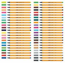 Fineliner Stabilo point 88 fine 0,4mm  Stift  versch. Farben
