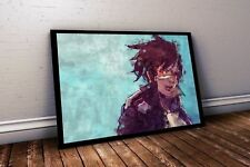 Overwatch Poster Tracer Painting Print. Tracer Poster