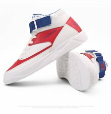 Mens Lightweight High Top Fashion Sneaker Lace Up High Ankle Boots Board Shoes