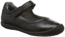 Geox J Gioia G Girls Leather Black School Shoe - 100% Positive Reviews