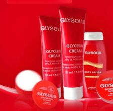SELECTION OF GLYSOLID SKIN SOFTENING CREAM AND LOTION