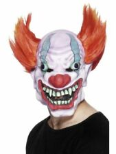 UOMO Horror Clown Maschera travestimento halloween IT spaventosa adulto clown