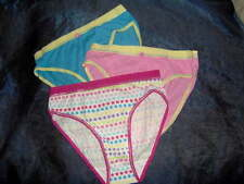 3 PACK GIRLS BRIEFS or SHORTS  - AGE 11/12 RANDOM ASSORTED