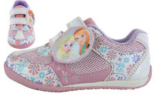 Girls Disney Frozen Summer Shoes Trainers with Velcro