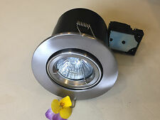 Top Quality GU10 FireRated Downlights- Twist and Lock- Tilt/Fixed & Showerlights
