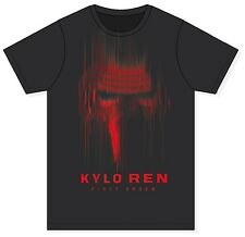 Mens Disney Star Wars The Force Awakens Kylo Ren novelty Tshirt top
