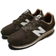 New Balance U520BG D 520 Green Olive Ivory Men Running Shoes Sneakers U520 BGD