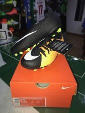 NIKE SCARPE SHOES FOOTBALL CALCIO HYPERVENOM PHELON 3 AG PRO JUNIOR 2018 ORANGE