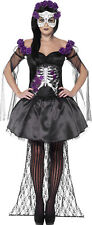 Day of the Dead Senorita Costume, with Printed Top