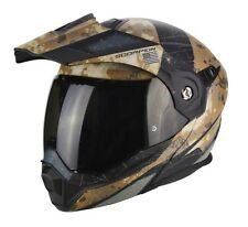 Casco moto apribile Scorpion Adx-1 battleflage modulare adventure enduro motard